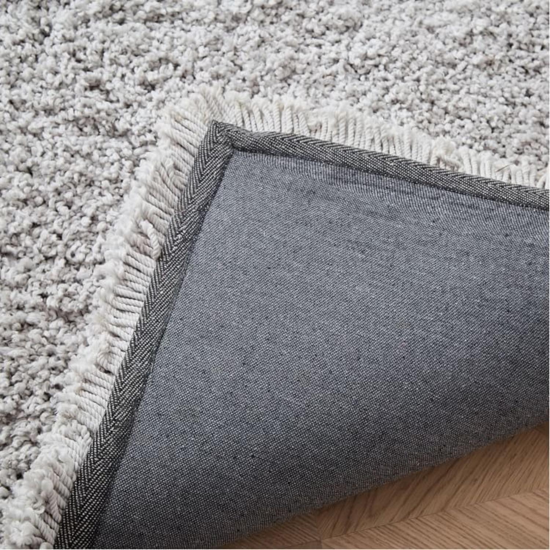 West Elm Cozy Plush Rug, Frost Gray, 6'x9' - image-1