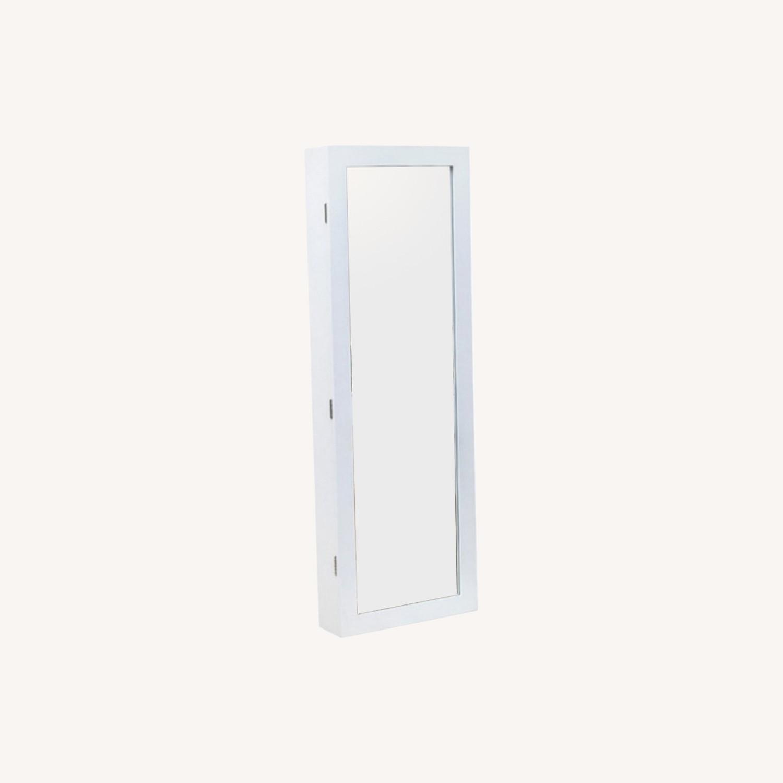 Bnib Mirrored Jewelry Armoire - image-0