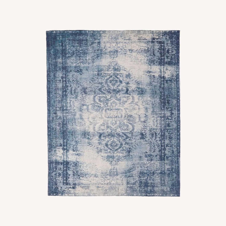 West Elm Distressed Arabesque Wool Rug, 8'x10' - image-0