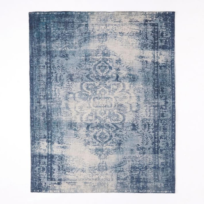 West Elm Distressed Arabesque Wool Rug, 8'x10' - image-3