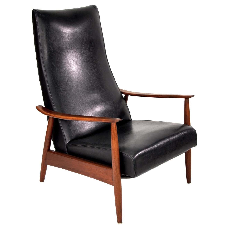 Milo Baughman Mid-Century Recliner Lounge Armchair - image-17