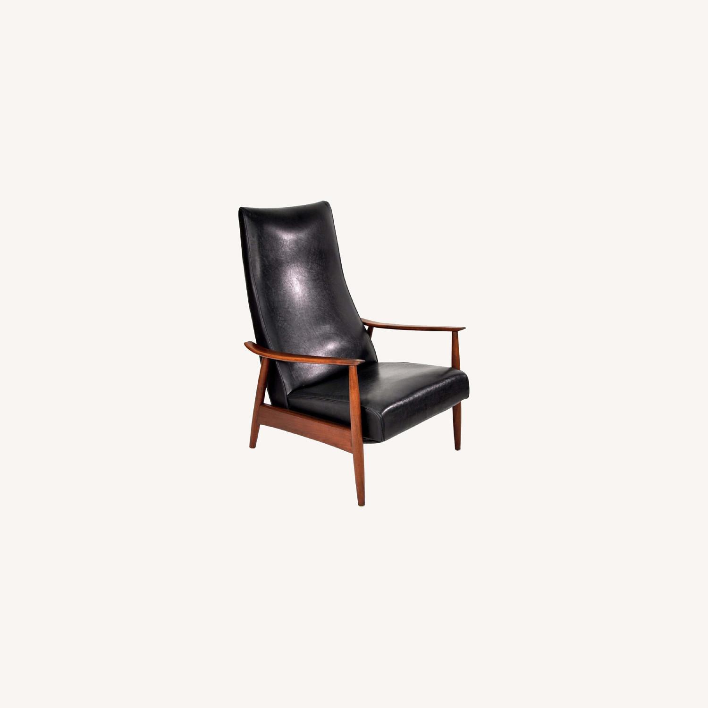 Milo Baughman Mid-Century Recliner Lounge Armchair - image-0