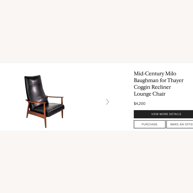 Milo Baughman Mid-Century Recliner Lounge Armchair - image-14