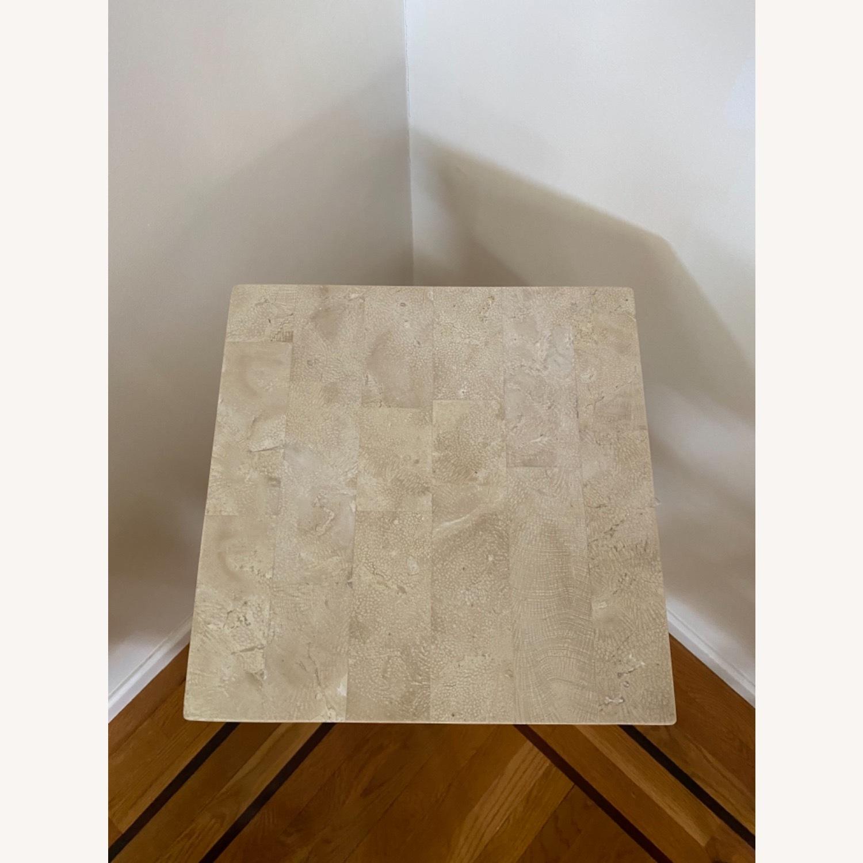 Tessellated Stone Column Pedestal - image-5