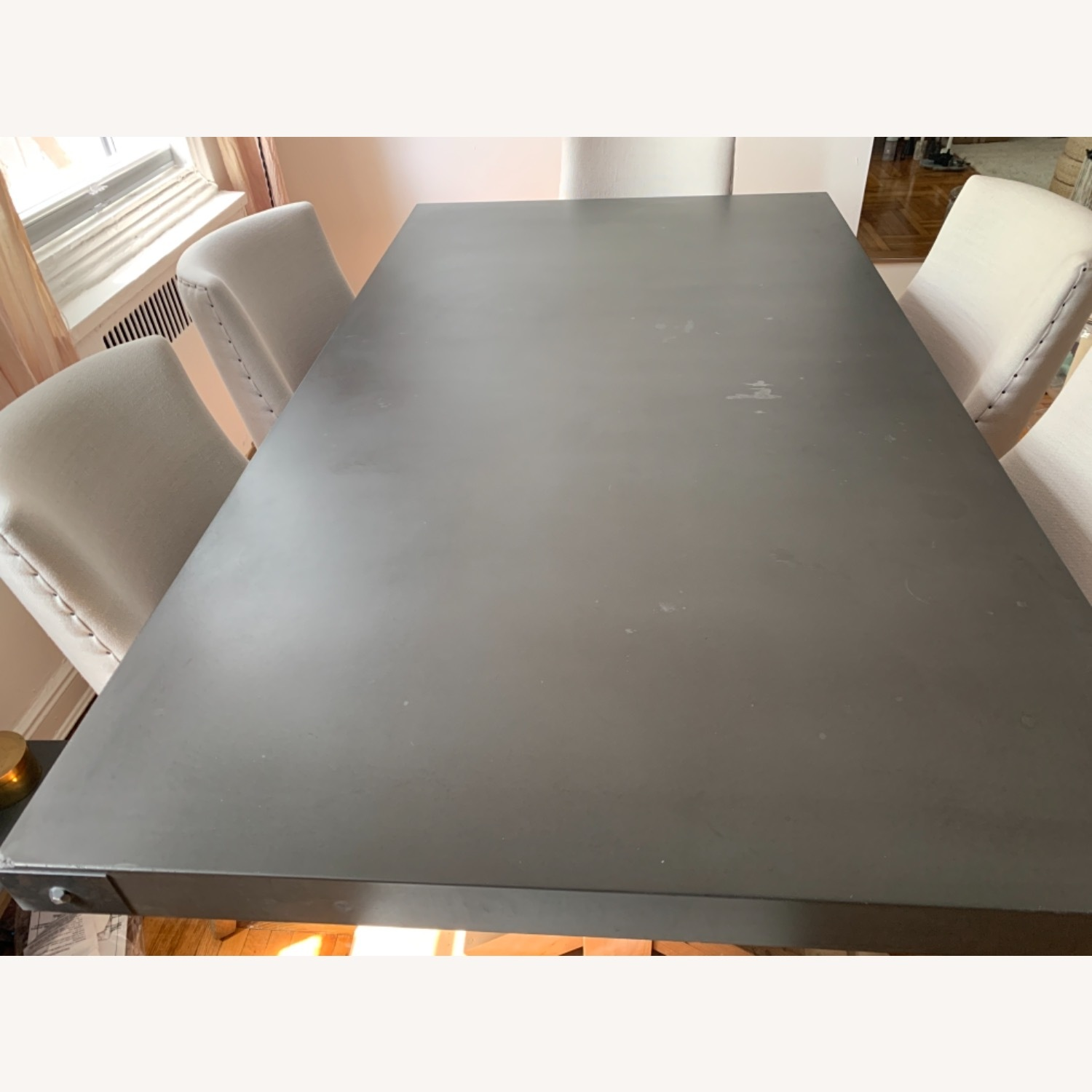 Restoration Hardware Salvaged Wood and Concrete Dining Table - image-23