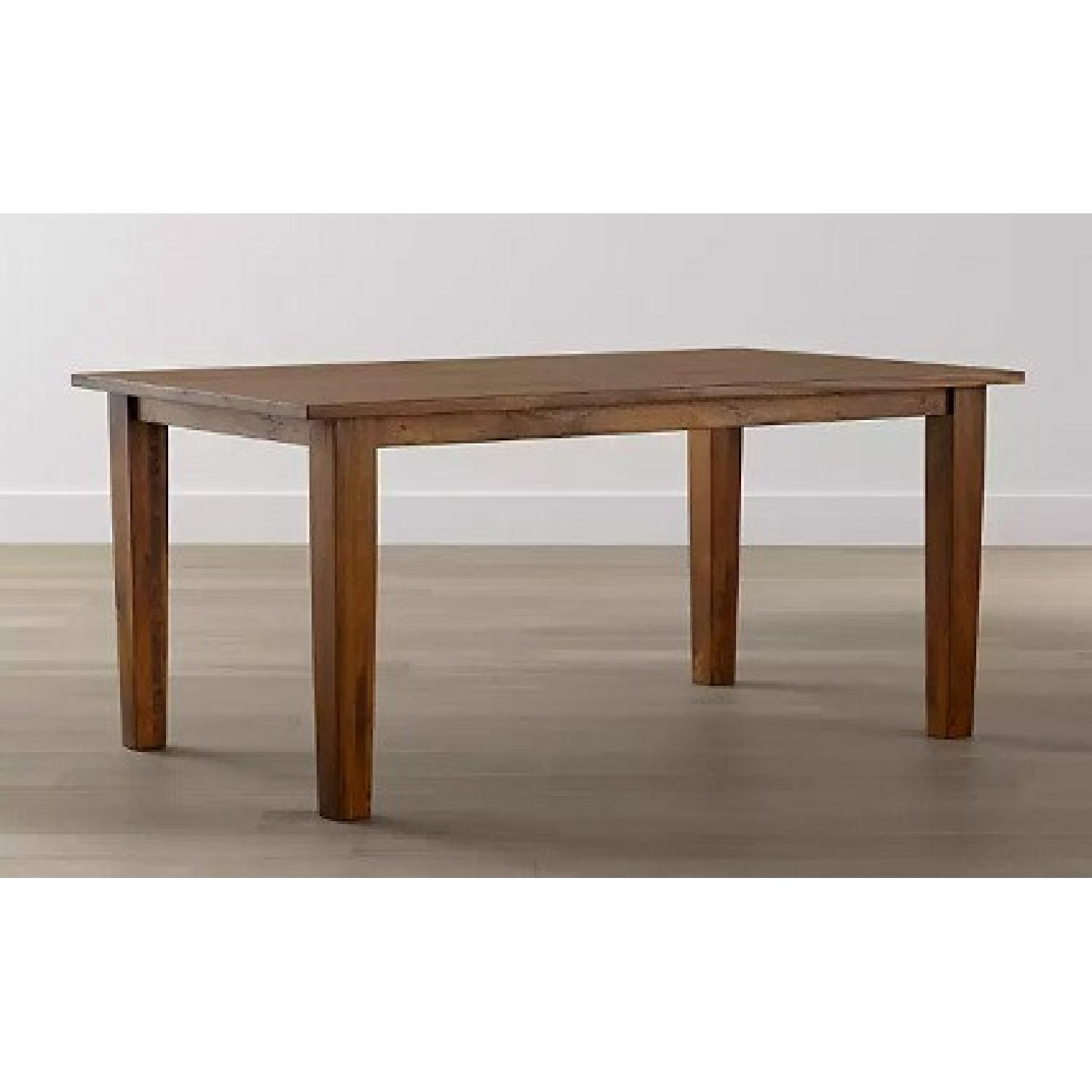 Crate and Barrel Basque Dining Table and 8 Chairs - image-6