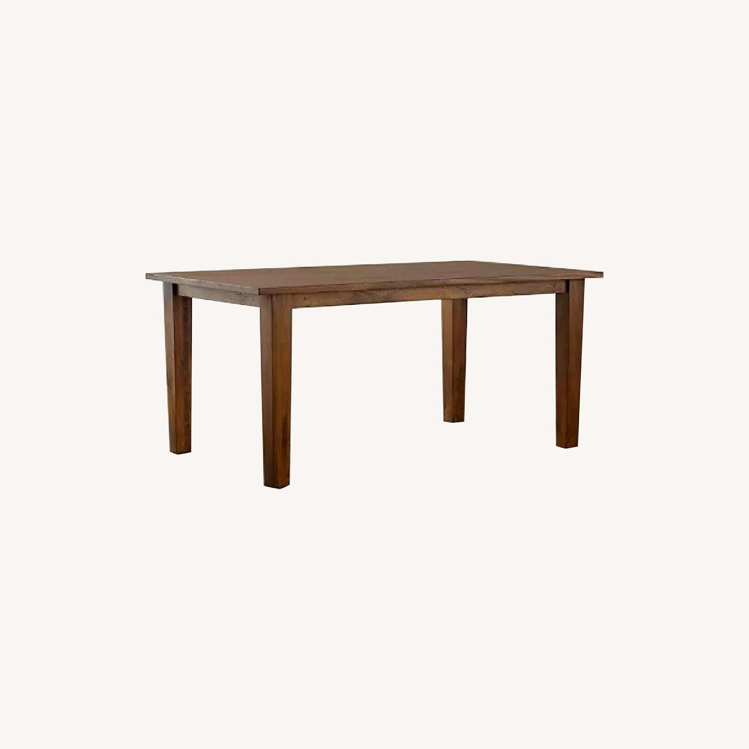 Crate and Barrel Basque Dining Table and 8 Chairs - image-0