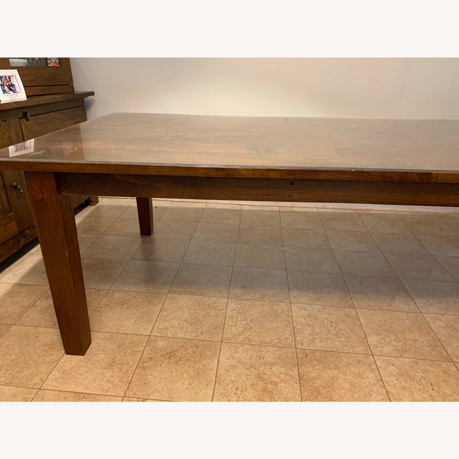 Crate and Barrel Basque Dining Table and 8 Chairs - image-1
