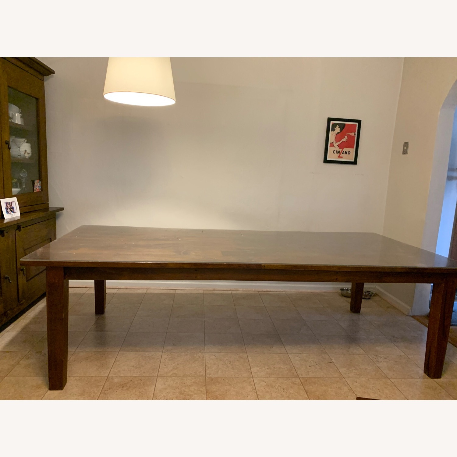 Crate and Barrel Basque Dining Table and 8 Chairs - image-2