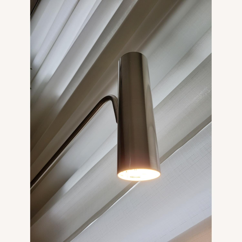 Linea Italia Minimalist Marble & Stainless Steel Floor Lamp - image-3
