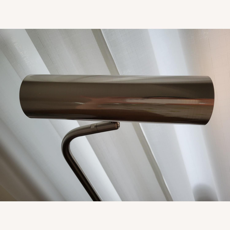 Linea Italia Minimalist Marble & Stainless Steel Floor Lamp - image-4