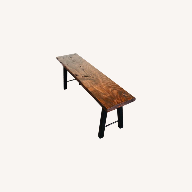 Handmade Coffee Table Mid Century Honey - image-5