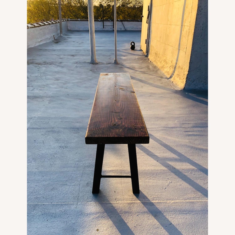 Handmade Coffee Table Mid Century Honey - image-4