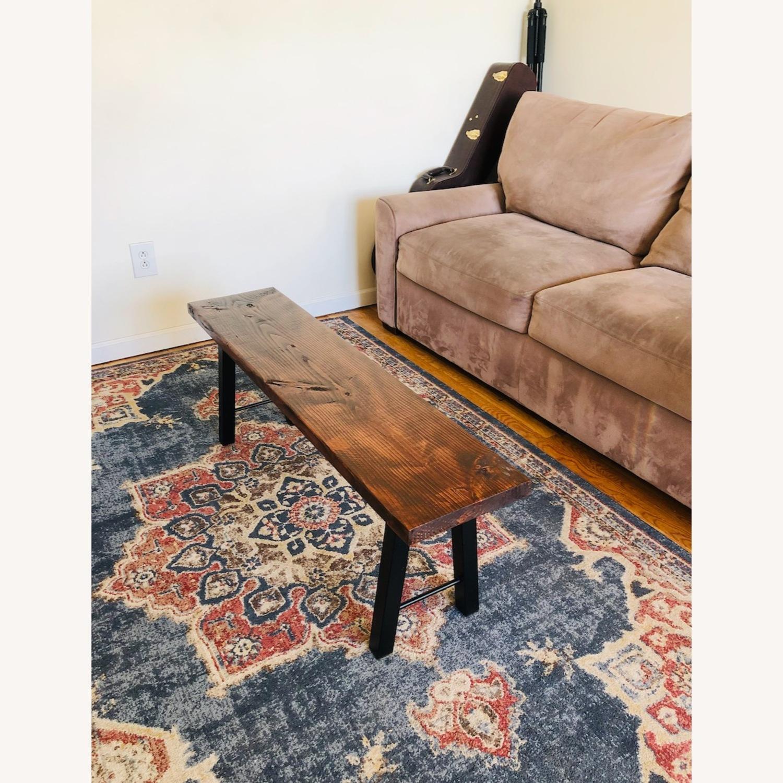Handmade Coffee Table Mid Century Honey - image-0