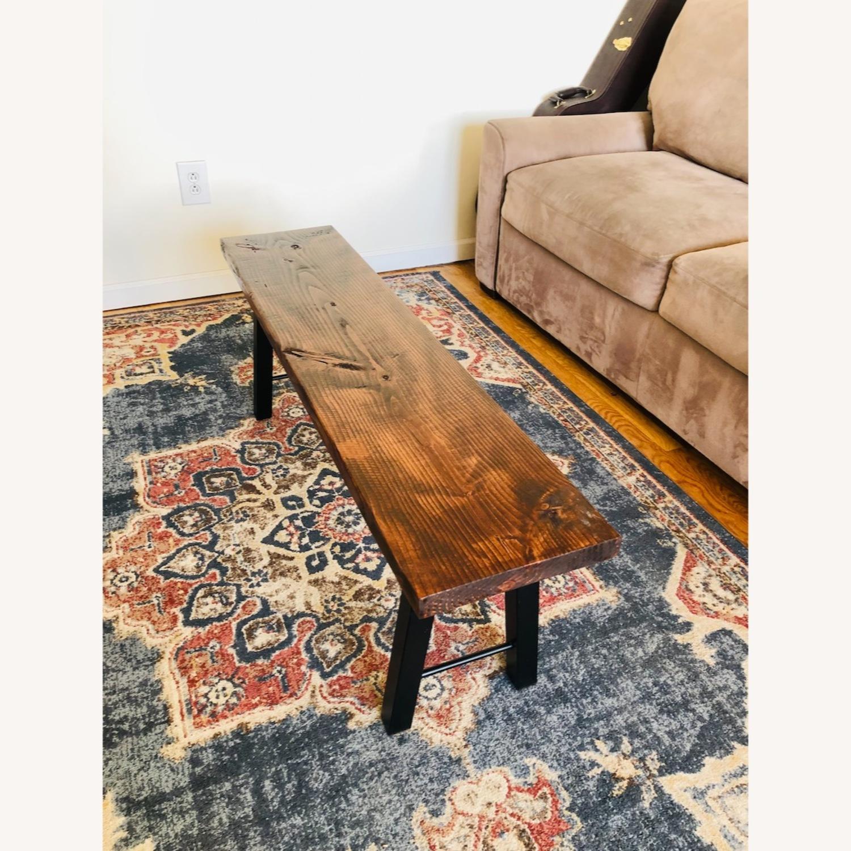 Handmade Coffee Table Mid Century Honey - image-1
