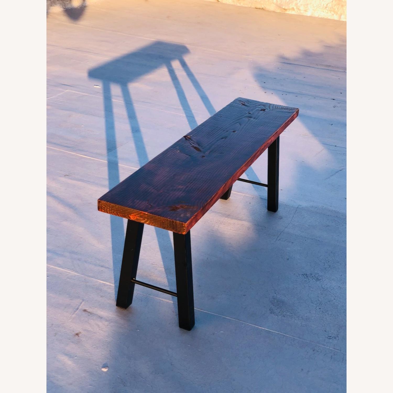 Handmade Coffee Table Mid Century Honey - image-2