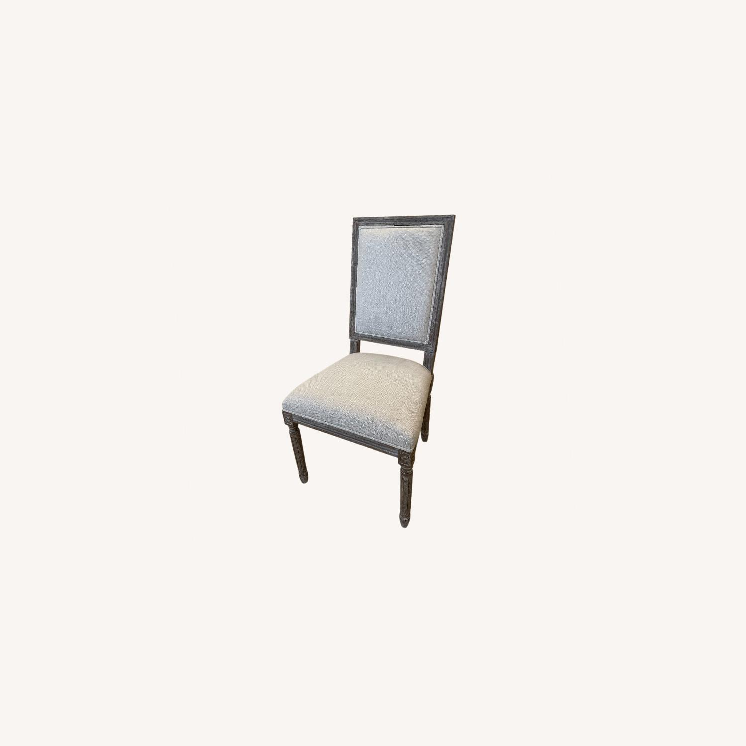 Restoration Hardware French Dining End Chairs (4) - image-0