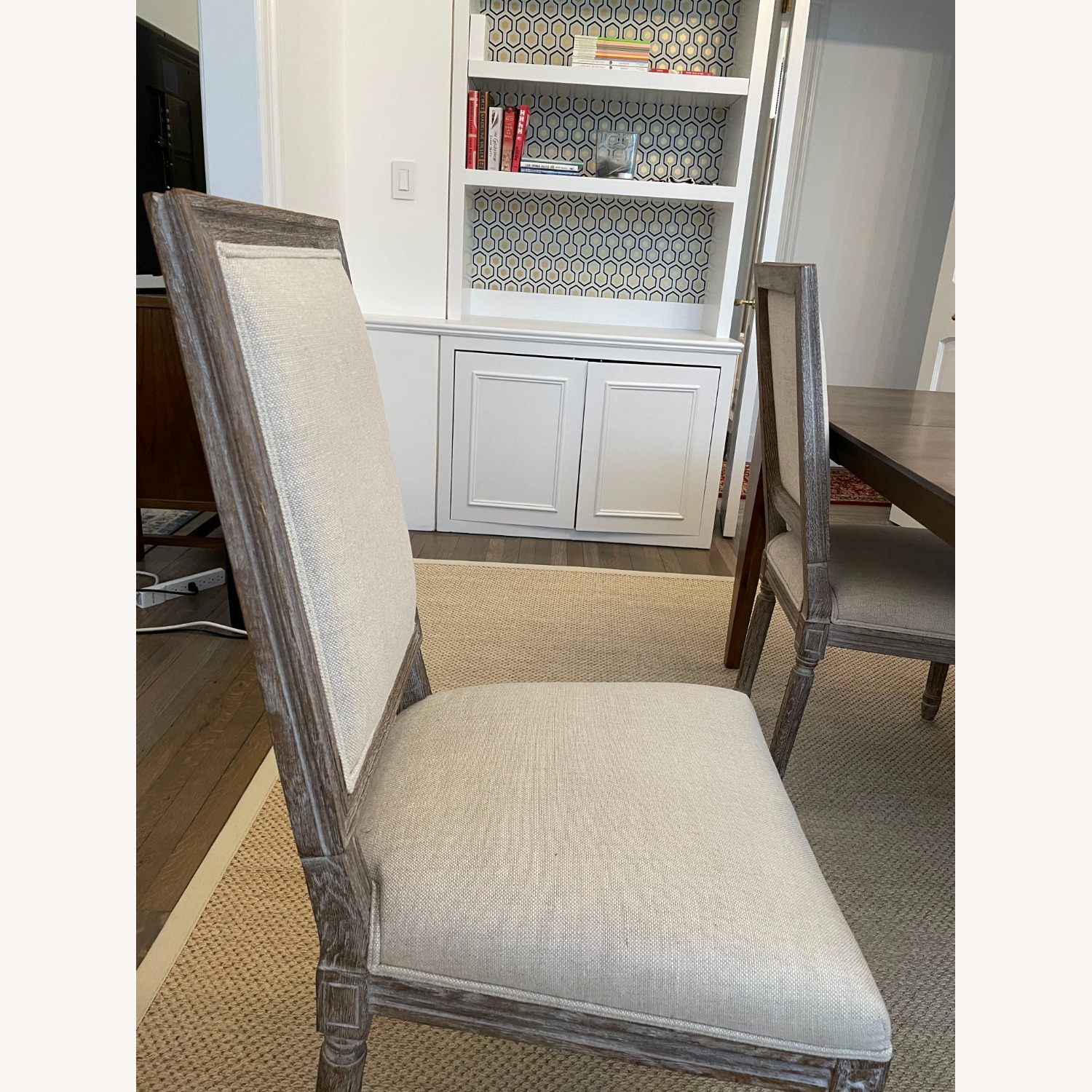 Restoration Hardware French Dining End Chairs (4) - image-2