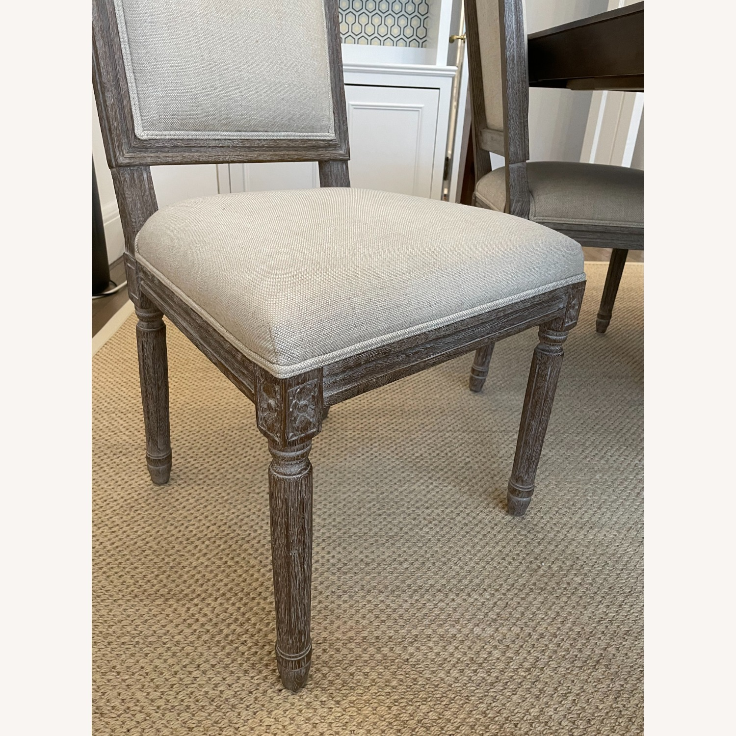 Restoration Hardware French Dining End Chairs (4) - image-4