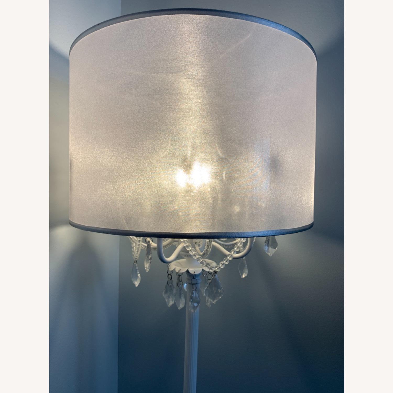 Chandelier Type White Floor Lamp - image-2