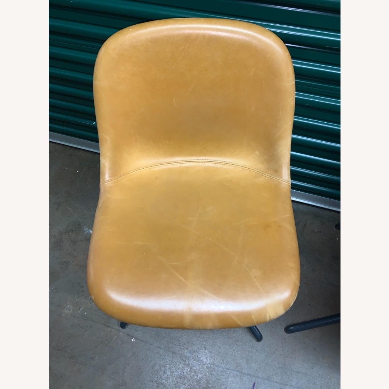 Muuto Leather Fiber Swivel Side Chair - image-4