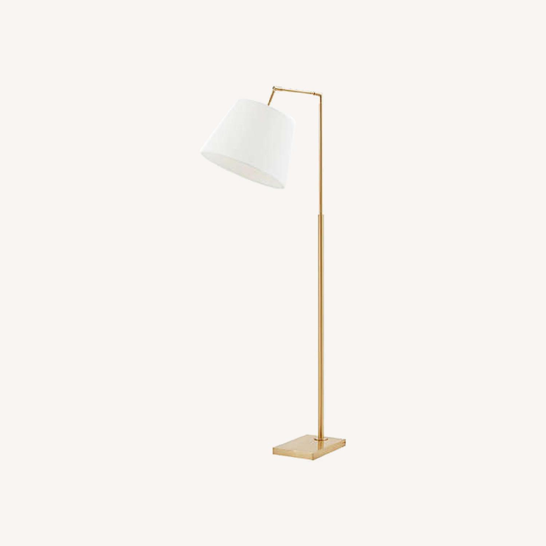 Martha Stewart Kenley Floor Lamp Gold/White - image-0