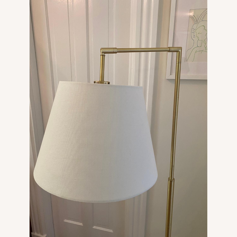 Martha Stewart Kenley Floor Lamp Gold/White - image-3