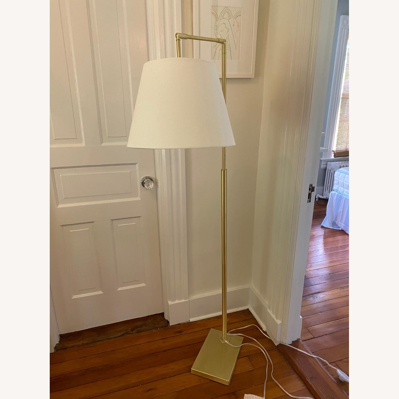 Martha Stewart Kenley Floor Lamp Gold/White - image-2