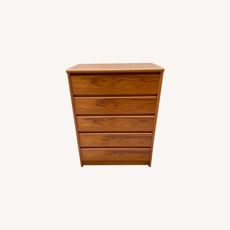 Vintage 1980s 5- Drawer Dresser  - image-0