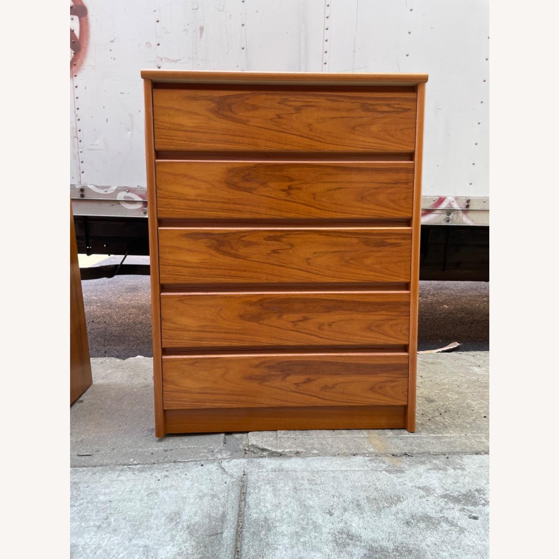 Vintage 1980s 5- Drawer Dresser  - image-16