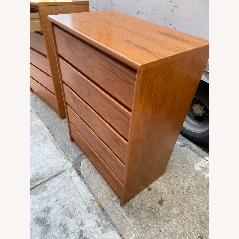 Vintage 1980s 5- Drawer Dresser  - image-2