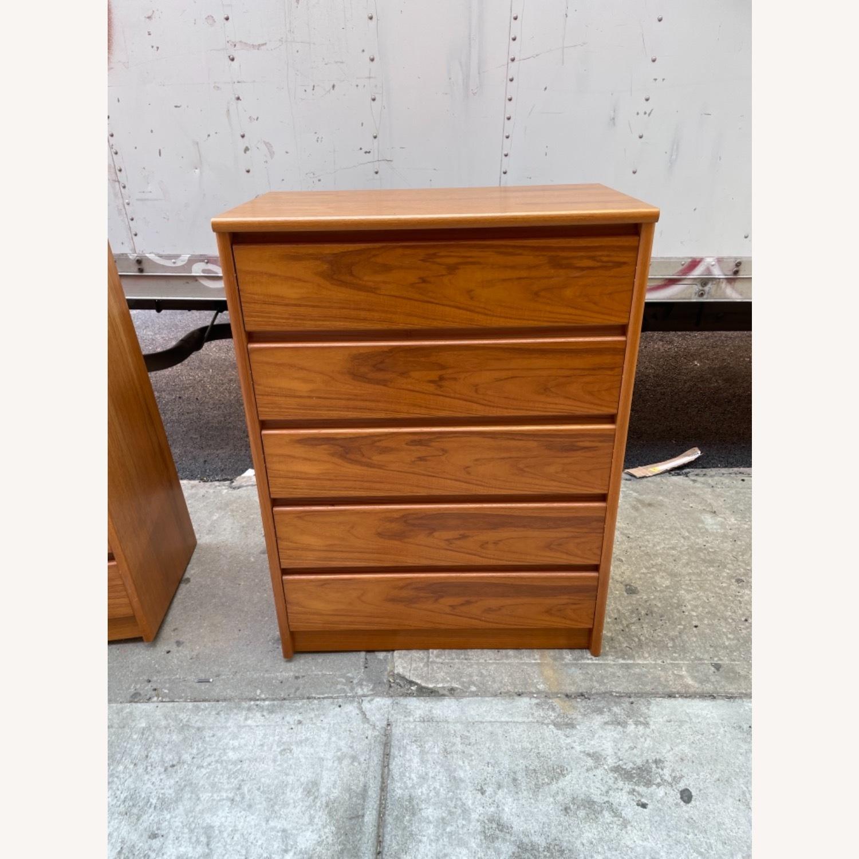 Vintage 1980s 5- Drawer Dresser  - image-3