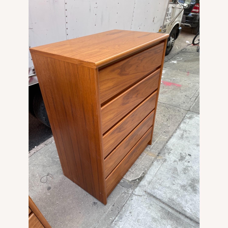 Vintage 1980s 5- Drawer Dresser  - image-4