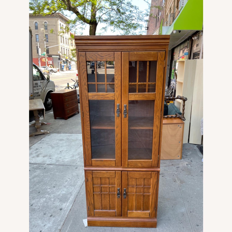 Hooker Furniture Vintage 1980s Solid Wood Cabinet  - image-12