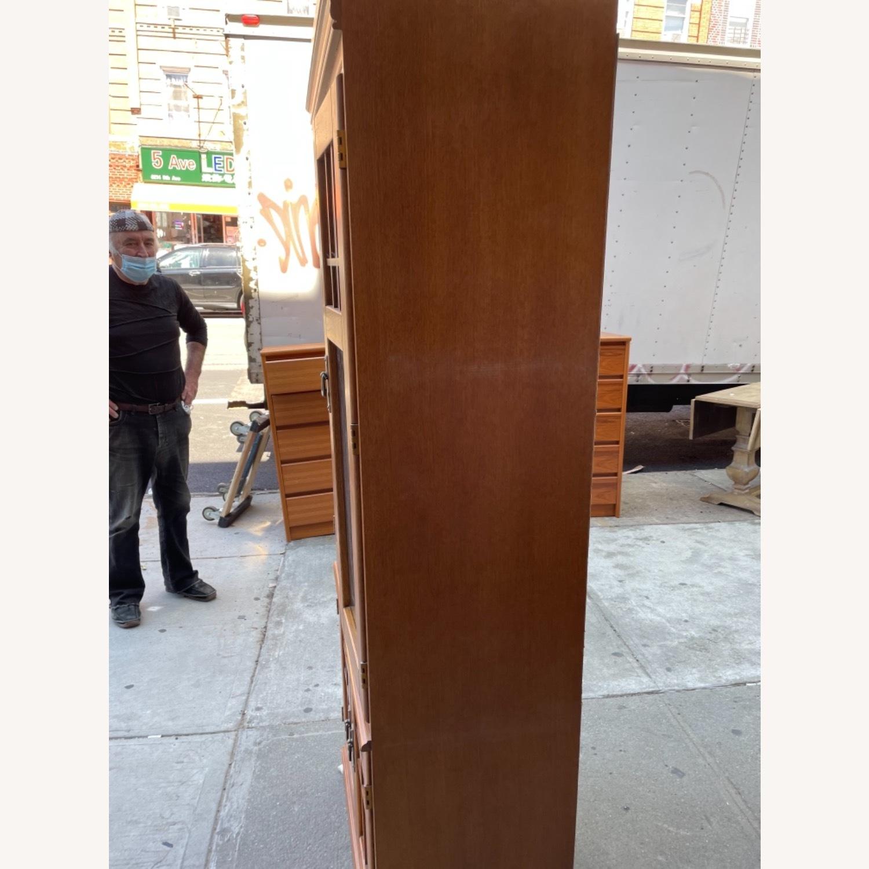 Hooker Furniture Vintage 1980s Solid Wood Cabinet  - image-4
