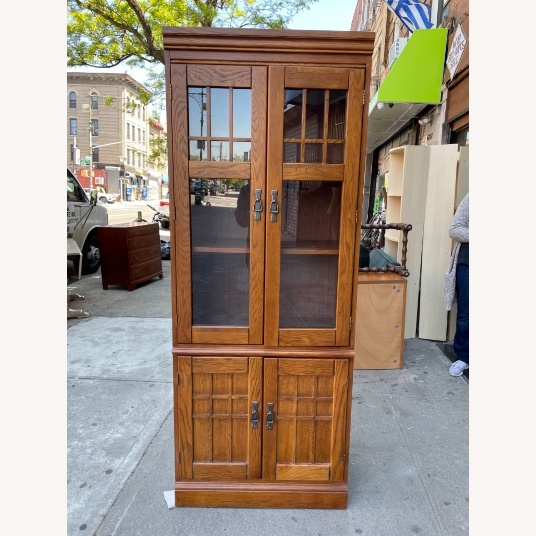 Hooker Furniture Vintage 1980s Solid Wood Cabinet  - image-2