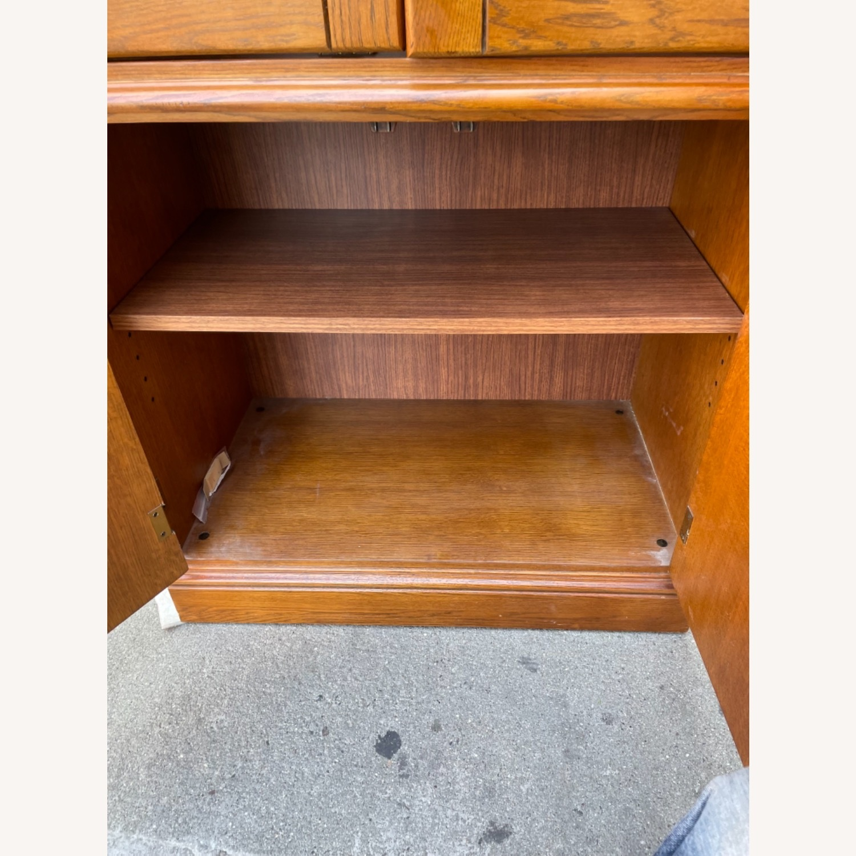 Hooker Furniture Vintage 1980s Solid Wood Cabinet  - image-14
