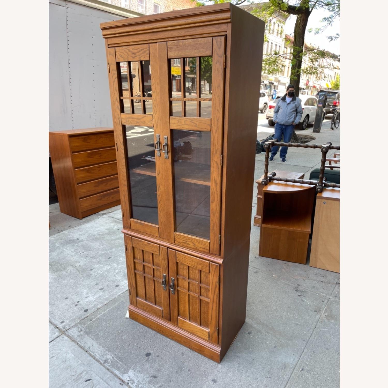 Hooker Furniture Vintage 1980s Solid Wood Cabinet  - image-13