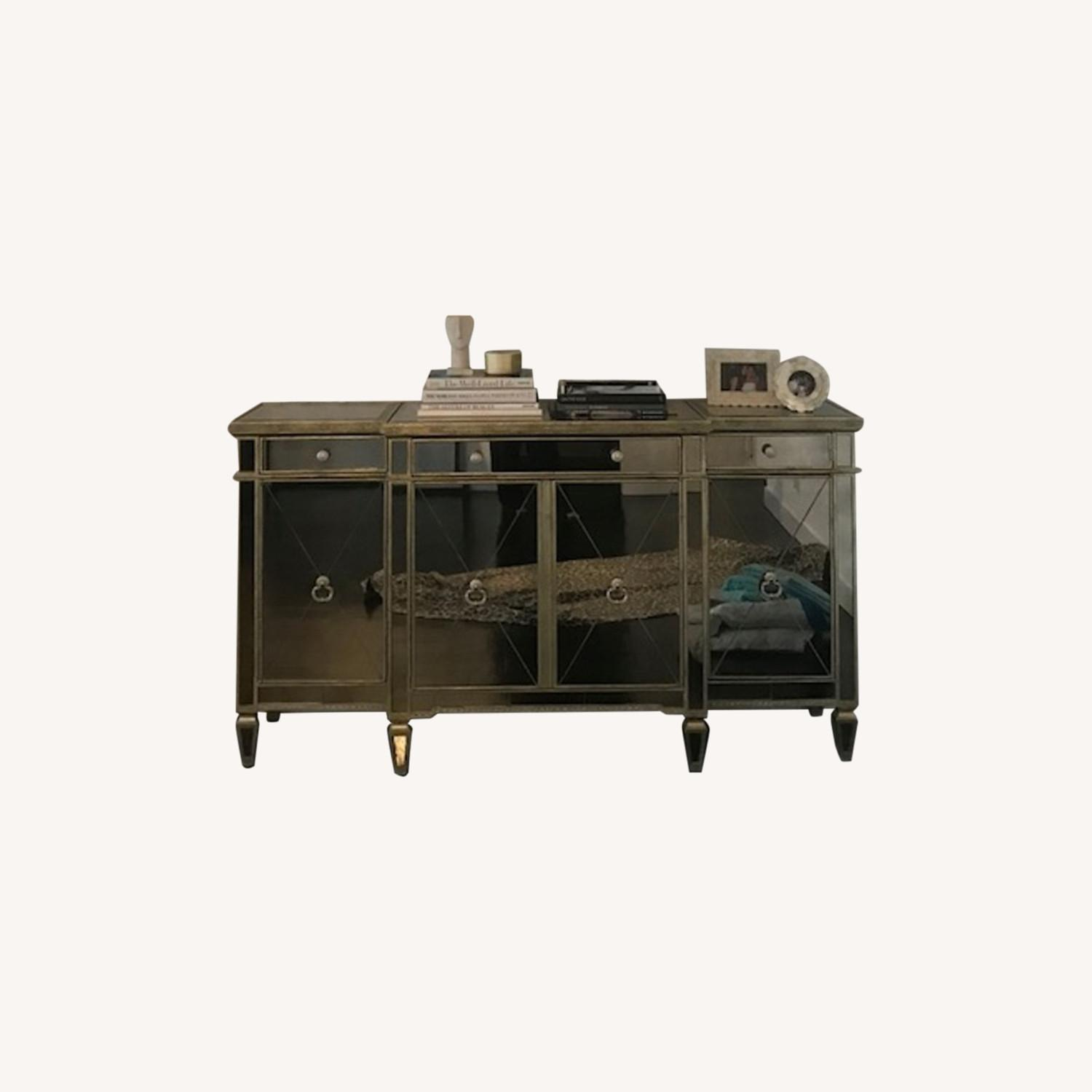 Horchow Mirrored Buffet - image-0