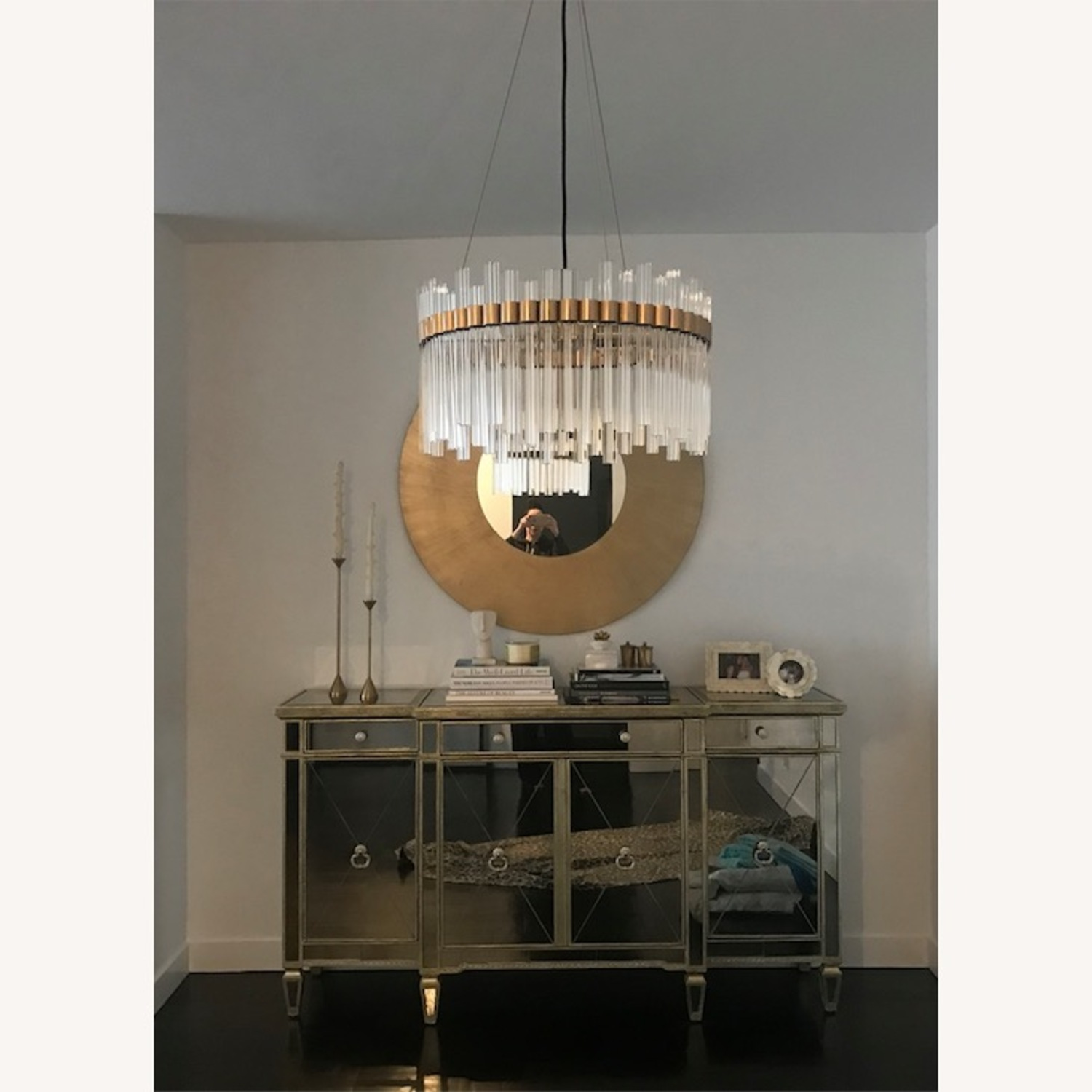 Horchow Mirrored Buffet - image-3