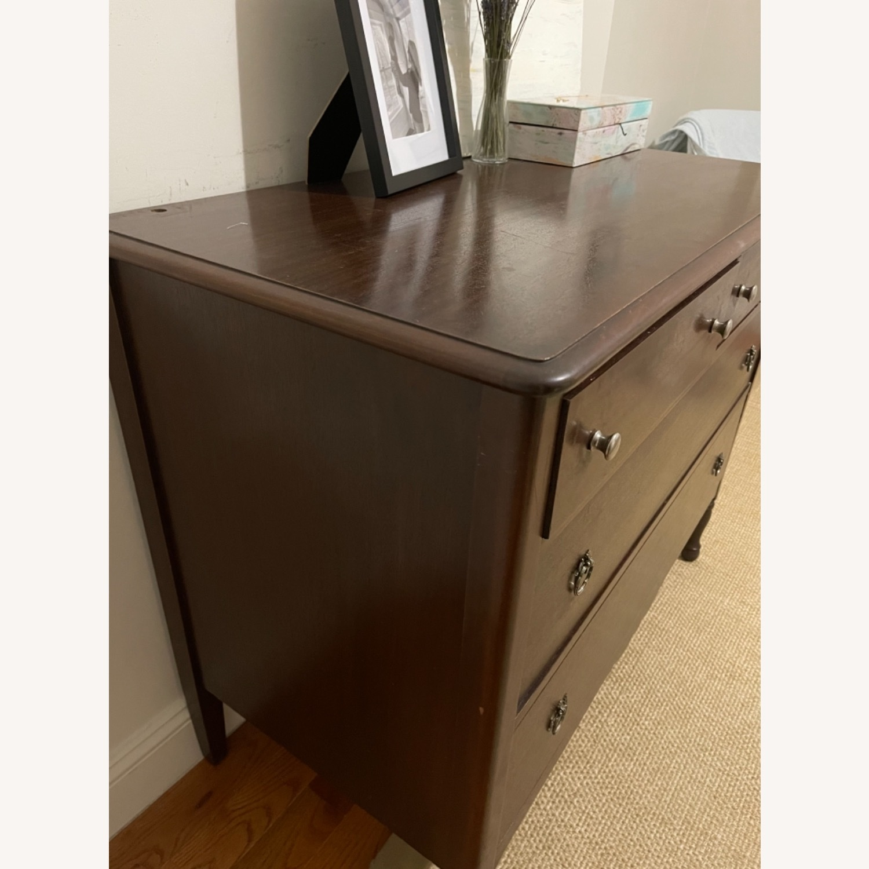 Antique Solid Wood Dresser - image-3