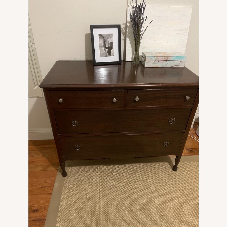 Antique Solid Wood Dresser - image-1