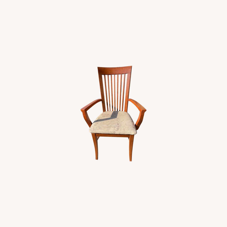 Slat Back Armchair - image-0