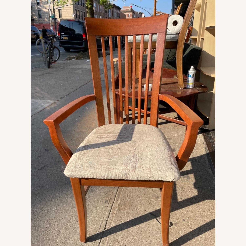 Slat Back Armchair - image-1