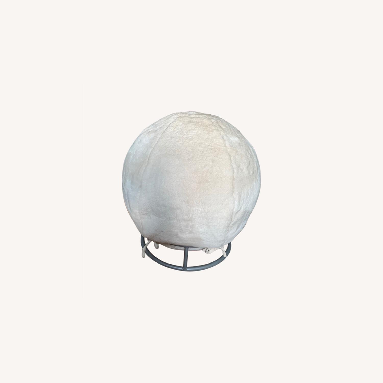 Pottery Barn Fluff Ball Chair - image-0