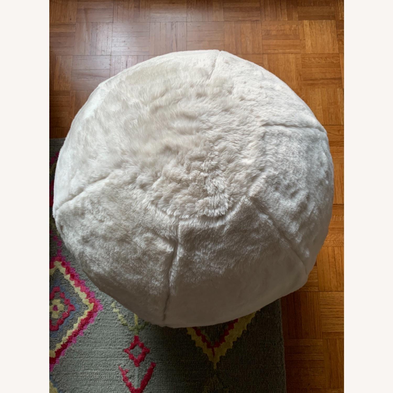 Pottery Barn Fluff Ball Chair - image-2