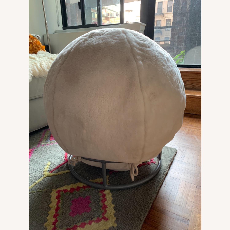 Pottery Barn Fluff Ball Chair - image-3