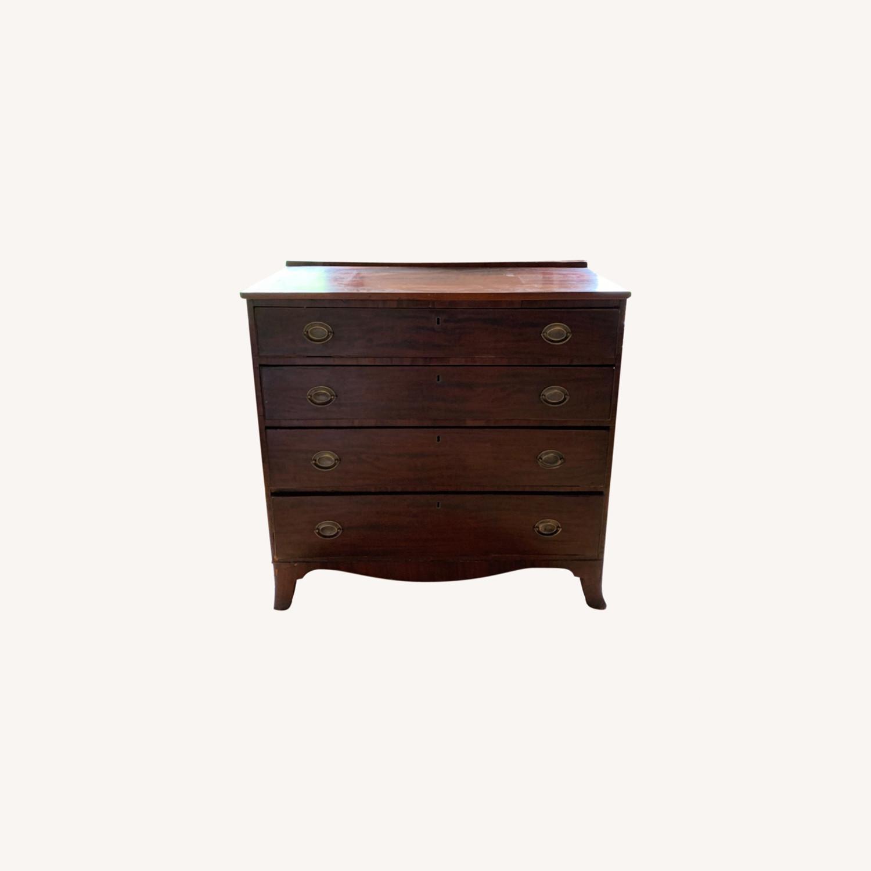 19th Century Mahogany Neo-Classical Dresser - image-0