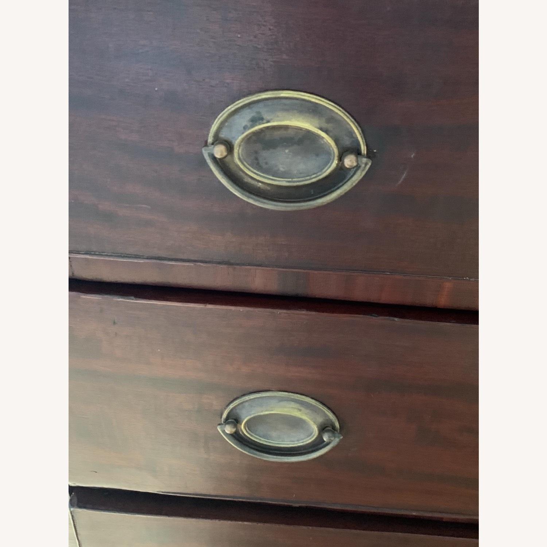 19th Century Mahogany Neo-Classical Dresser - image-5