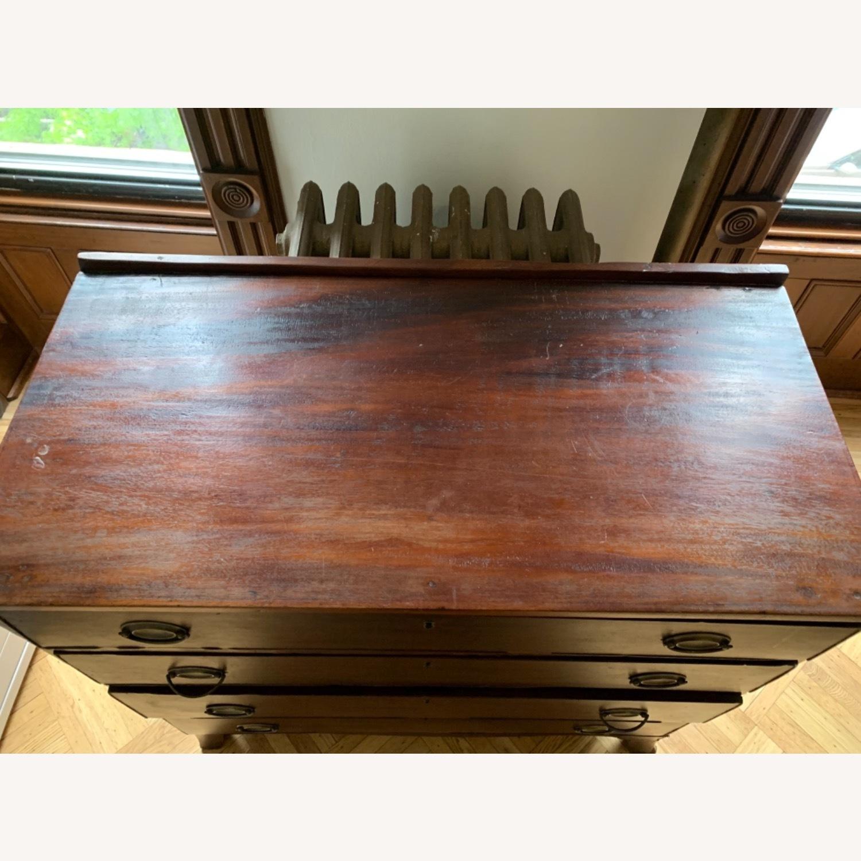 19th Century Mahogany Neo-Classical Dresser - image-10